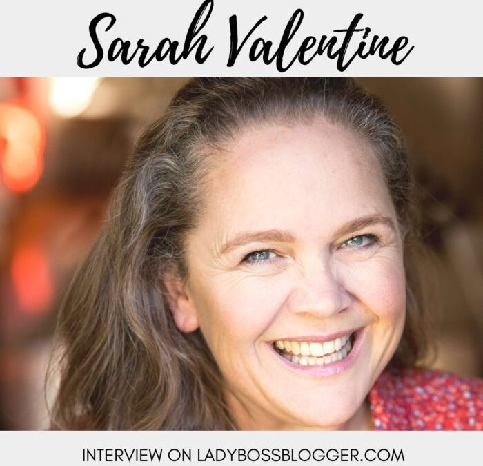Meet Sarah Valentine, Actor, Agent and Accent Coach
